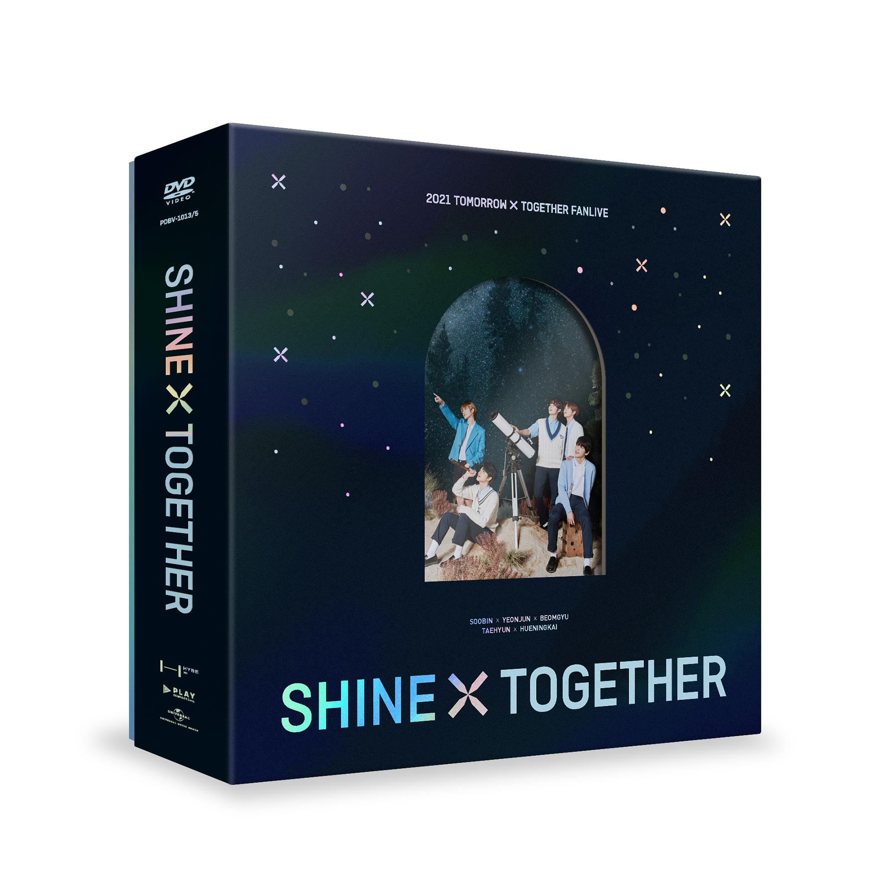 2021 TXT FANLIVE SHINE X TOGETHER